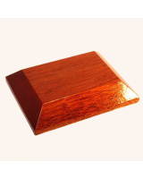 B-014 Wooden Base/ Plinth 9,0 x 7,0cm