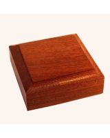 B-023 Wooden Base/ Plinth 6,30 x 6,30 Cm
