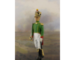 NF2101-01 The Second Lieutenant 1811-1813 Painted