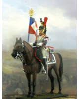 NF6003-01 Standard-Bearer 1 Regiment  1810-1812 Painted