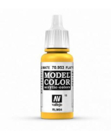 AV Vallejo Model Color VAL953 - Flat Yellow - Paint