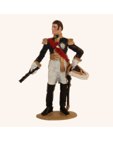 1012 Toy Soldier Set King Charles XIV Johan 1763-1844 as French Field Marshal Painted