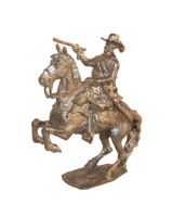 54mm Holger Eriksson - 011 - Gustavus II Adolphus, mounted, King of Sweden 1611-1632 Military Miniature - Unpainted