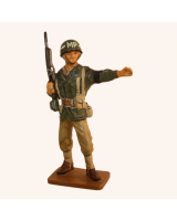 Del Prado 049 Corporal Mil. Police 9th Air Force U.S.A. 1944 Painted