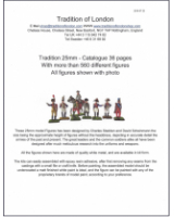 25mm Tradition Figures Catalogue  - Order Paper or PDF further down right!