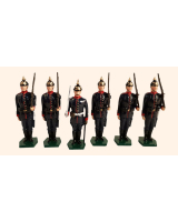 011A Toy Soldiers Set The Prussian Infantry - Field Marching Order 1914 Painted