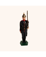 0011A 2 Toy Soldier Private at Attention Field Marching order Kit