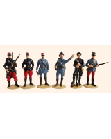 2018 Christmas set - The French Army - The First World War - 54mm Painted in Gloss