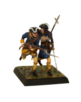 DO-J-001- Two Caroleans attack - Digital-Sculpt-Figures - 54mm Unpainted