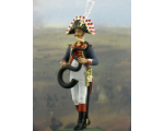 NF1088-01 Serpent player Year 1810 Painted