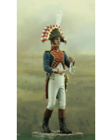 NF1096-01 Triangle player Year 1810 Painted