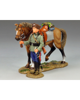WS147 Standing Cossack and Horse King and Country