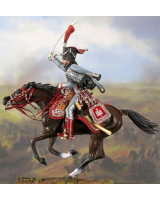 NF5102-03 The Captain of 3 regiment of Hussars, year 1808 Painted