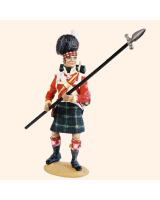 T54 446 Sergeant Highland Infantry 1815 Painted