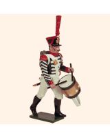0723 2 Toy Soldier Grenadier Drummer advancing Kit