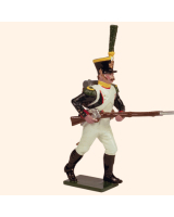 0725 3 Toy Soldier Voltigeur advancing Kit