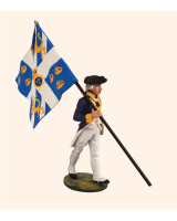 AL54 16 T.S. Standard Bearer Royal Suedois Painted