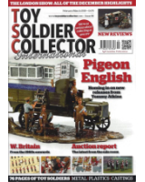 Toy Soldier Collector Magazine Issue 86 Pigeon English Homing in on new releases from Tommy Aktins