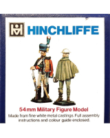F04 Model Soldier - British Victorian Gunner at drill, with hand lever - Unpainted