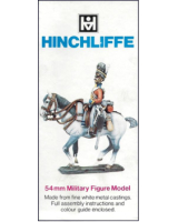 C2 Model Soldier - British WW1 Mounted Artillery Officer, winter clothing - Unpainted