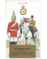 Post Cards Geoff White Ltd. No. GE-03 - The Queens Guards