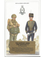 Post Cards Geoff White Ltd. No. GE-04 - The Support Arms and Services Part 1