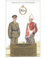 Post Cards Geoff White Ltd. No. GE-18 - The Kings Division