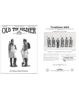 Old Toy Soldier Magazine 1990 Volume 14 Number 5 Fort Henry Guard Pioneers