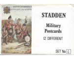 Stadden Military Postcard 12 Different No.006 - BMU 61-72 - British Regiments The Highland Light Infantry