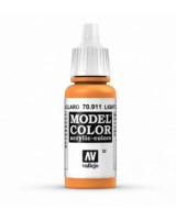 AV Vallejo Model Color VAL911 - Light Orange  - Paint