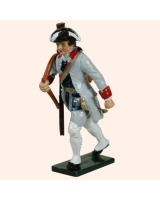 623 3 Toy Soldier Private French Infantry La Reine Regiment Kit