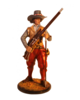 JW90 047 Musketeer The English Civil War 1642-1651 Painted