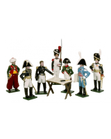 0746 Toy Soldiers Set Napoleons Headquarters Painted