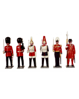 0063 Toy Soldiers Set Guards of London Painted