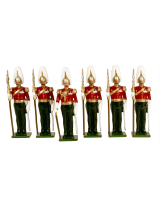 073 Toy Soldiers Set Gentlemen at Arms Painted