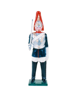 0506 Toy Soldier Set Trooper Blues and Royal Painted
