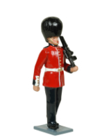 0555 Toy Soldier Set Guardsman Grenadier Guards Painted