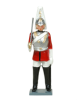 556 Toy Soldier Set Trooper The Life Guards Painted