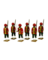 0008 Toy Soldiers Set 15th Bengal Infantry Ludhiana Sikhs Painted