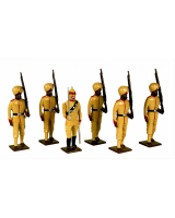 0009 Toy Soldiers Set Punjab Frontire Force 1890 Painted