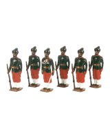 0032 Toy Soldiers Set 29th Bombay Infantry 2nd Baluchis 1890 Painted