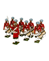 0076 Toy Soldiers Set The Drums 45th Rattrays Sikhs Painted