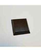 B-037 Wooden Base/ Plinth 4,0 x 4,0 Cm / 5,0 x 5,0 Cm