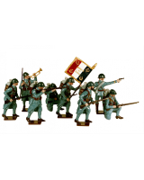 0801 Toy Soldiers Set French Infantry Painted
