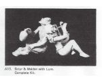 A13 - Satyr and Maiden with Lyre Complete set - Unpainted