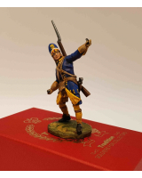 DO-J-006- Swedish Grenadier throws Grenade - Digital-Sculpt-Figures - 54mm Painted
