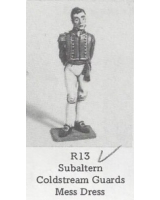 R13 - Subaltern Coldstream Guards Mess Dress - Unpainted