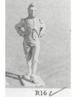R16 - Capitaine or Chef de Bataillon French Imperial Guard - Unpainted