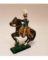 782 Toy Soldier Set - Joachim-Napoleon Murat Mounted in Polish uniform Painted