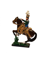 0782 Toy Soldier Set - Joachim-Napoleon Murat Mounted in Polish uniform Unpainted, Kit